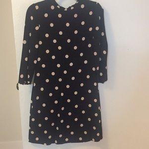 Kate spade dizzy dot dress (3/4 slvd shift dress)